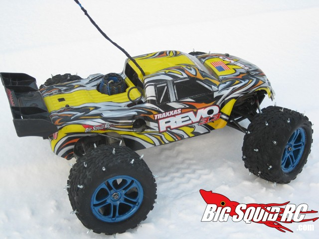 Snow Tires On A Traxxas Revo Fan Picture Contest Big Squid Rc