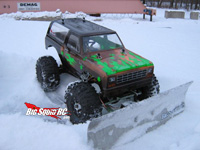 RC Car Snow Plow