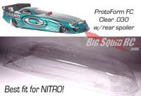 RC Drag Racing Funny Car Body