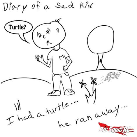 Nobody loves me... not even my turtle...