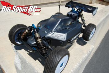JConcepts RC8 Punisher body prototype