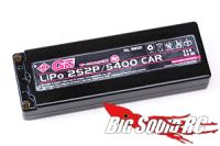 GM Racing 5400 mAh 7.4V 50c LiPo