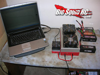 LiPo Battery voltage under load tests