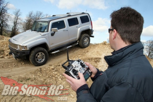 Full Scle RC Hummer