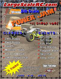 1:5 Large Scale RC Jam