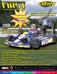 RC Go Kart
