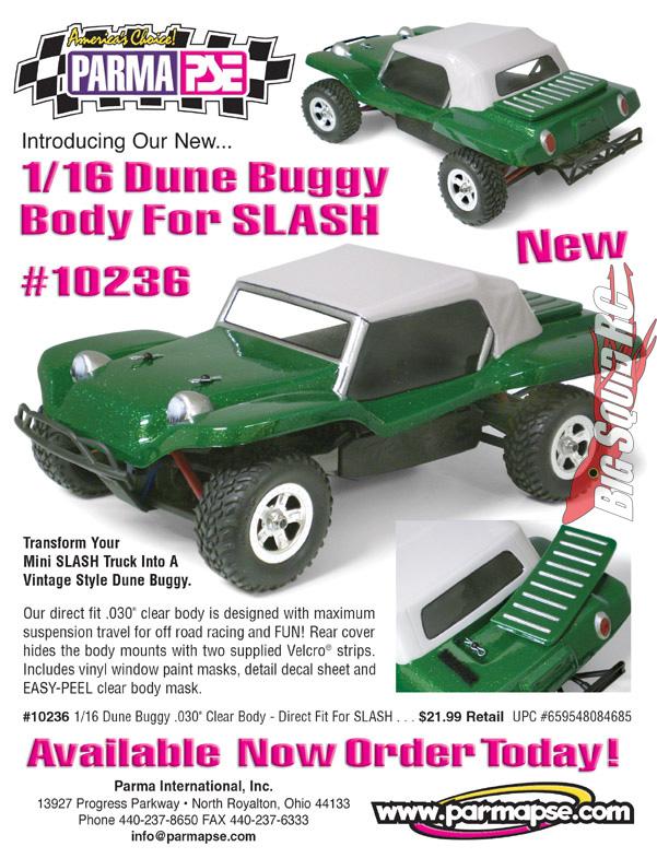 Parma Dune Buggy Body for Traxxas Mini Slash « Big Squid RC