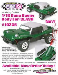 parma dune buggy mini slash