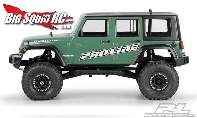 Pro Line Jeep Wrangler Rubicon Body 171 Big Squid Rc Rc