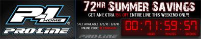 Pro-Line 72 hour sale