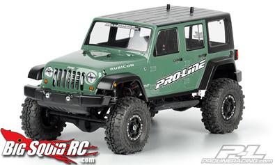 Pro-Line jeep wranger body