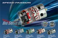speed passion 1:8 scale brushless motors