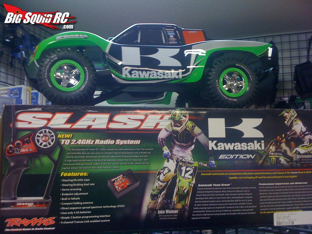 Kawasaki Traxxas Slash Rc Truck