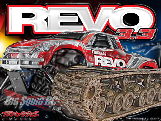 Traxxas Ditches 1:8 Buggy Plans for Revo Tank Edition! « Big Squid on