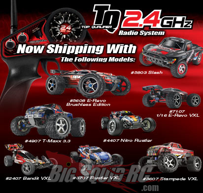Traxxas Tq 2 4ghz Radio Shipping With Many Vehicles 171 Big