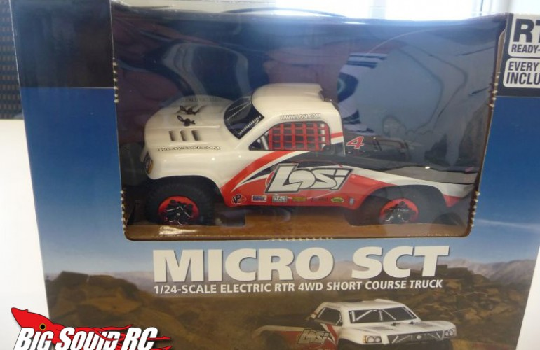 Unboxing the Losi Micro SCT 1