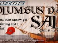 Pro-Line Columbus Day Sale