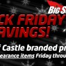 Castle Black Friday Sale