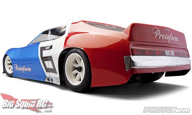 Car Club Inc: PROTOform Vintage Trans-Am J71 Body Fresh Off The Track