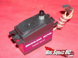 Savox Brushless Servo