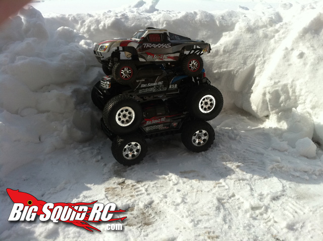 Monster Truck and Slash Snow