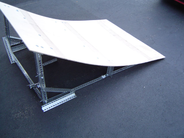 Portable Ramp - Slight Curve