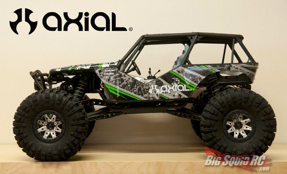 Axial R C : Axial rock racer « big squid rc car and truck news
