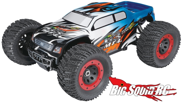 Thunder Tiger Mt4 G3 Ep Monster Truck Big Squid Rc Rc Car And