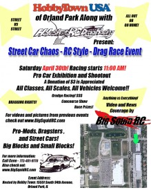 Holeshot RC Drag Race Event