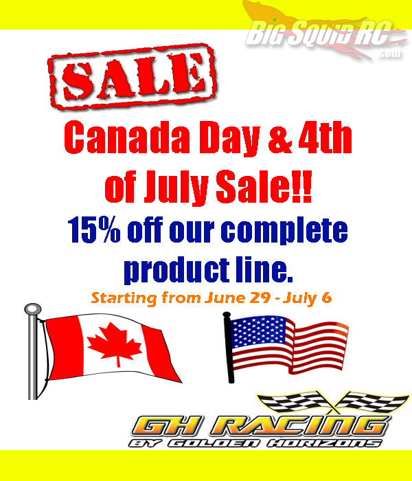GH Racing Sale Poster