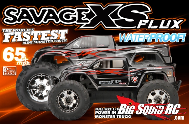 Worlds Fastest Rc Car >> HPI Savage XS Flux RTR – World's Fastest Mini Monster Truck « Big Squid RC – RC Car and Truck ...