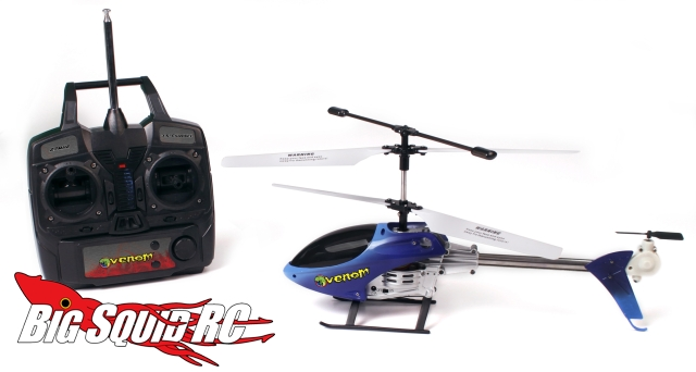 New Venom Helicopters Big Squid Rc Rc Car And Truck News
