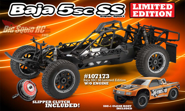 hpi baja 5sc ss limited edition