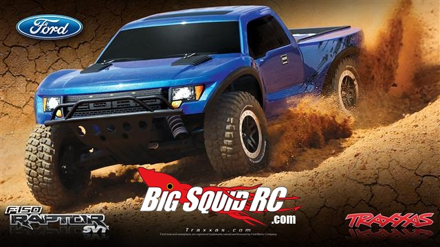 traxxas ford f 150 svt raptor replica big squid rc rc. Black Bedroom Furniture Sets. Home Design Ideas