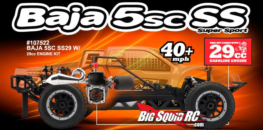 HPI Baja 5SC SS 29cc