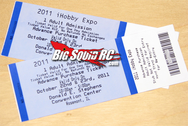 ihobby tickets