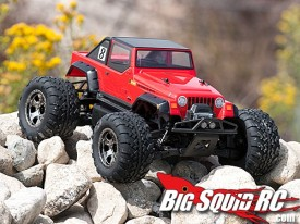 HPI Savage XS Jeep Rubicon Body
