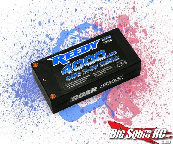 Reedy 4000mAh 60c 7.4v Hardcase Shorty LiPo
