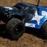 Blue ECX Smash in action