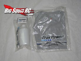 trakpower fuel bottle and t-shirt