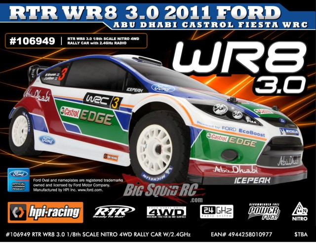 hpi wr8 rally