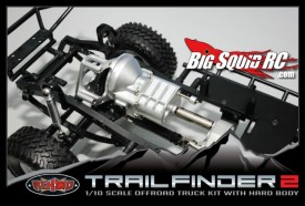 RC4WD Trail Finder 2 Body Off