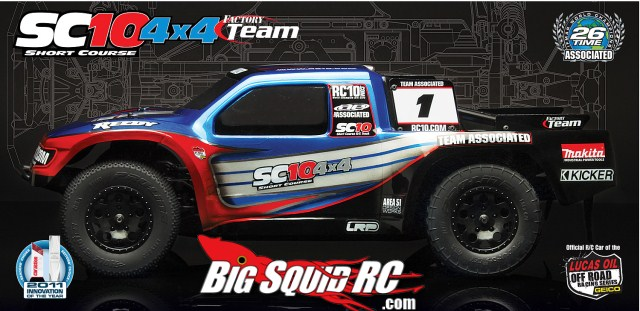 SC10 4X4 FT Side View