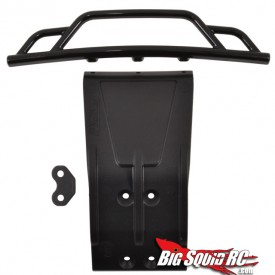 rmp losi scte bumper and skid plate