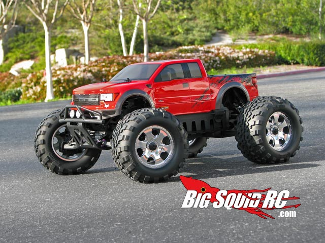 hpi ford f 150 svt raptor monster truck body big squid rc rc car and truck news reviews. Black Bedroom Furniture Sets. Home Design Ideas