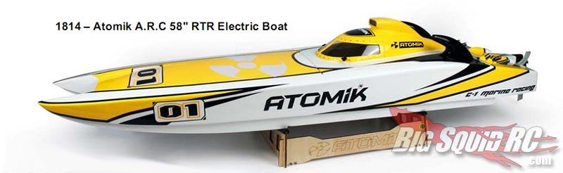 atomik rc arc boat