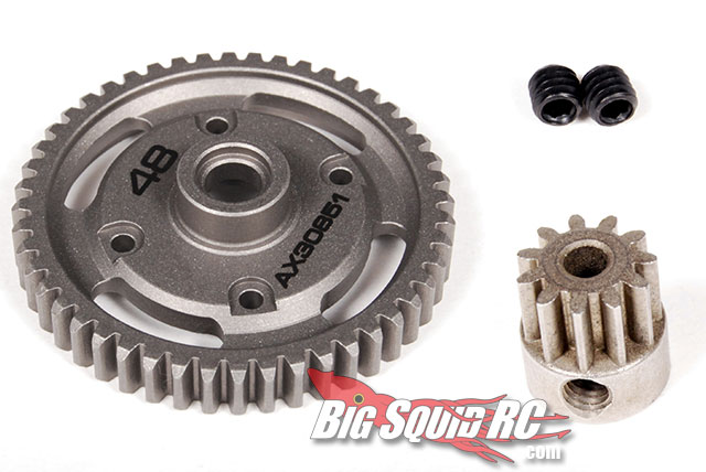 axial exo spur and pinion gear