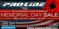 pro-line memorial day sale