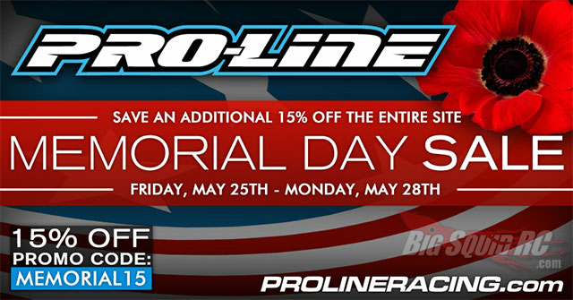 pro-line memorial day sale