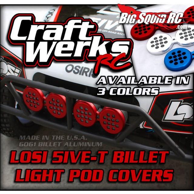 craftwerks billet light covers